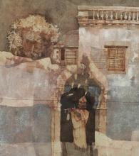 GANESH PYNE | Untitled (Krishna with Flute)