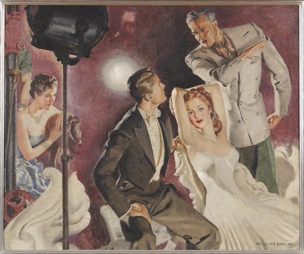 MCCLELLAND BARCLAY 1875-1943 CINEMA SET