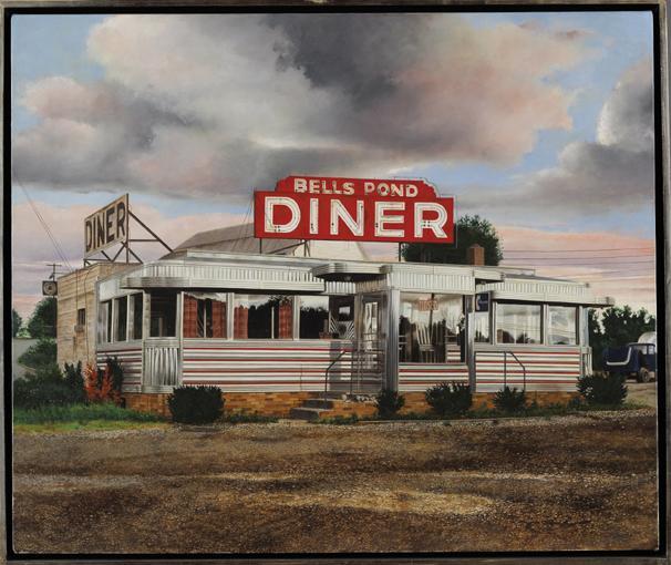 JOHN BAEDER NÉ EN 1938 BELLS POND DINER (HUMPHERY VILLE, N.Y.)
