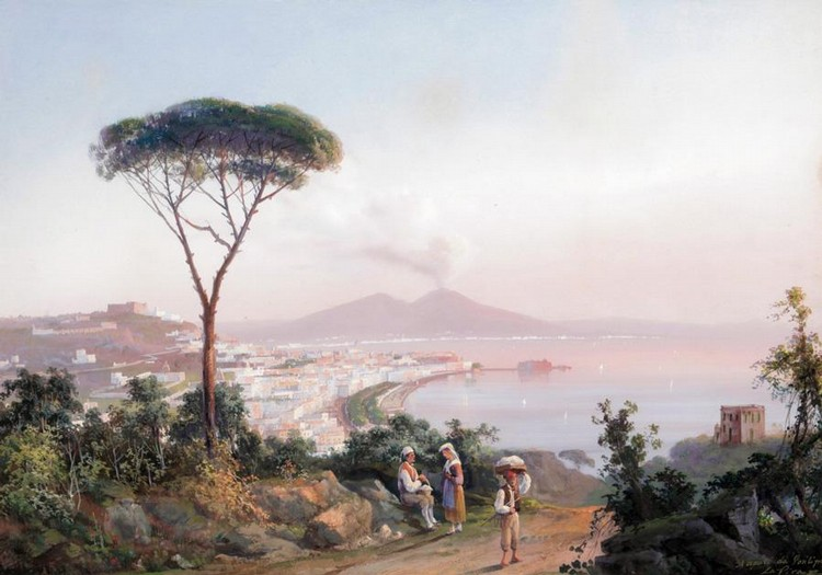 GIOACCHINO LA PIRA, ITALIAN 1839-1870