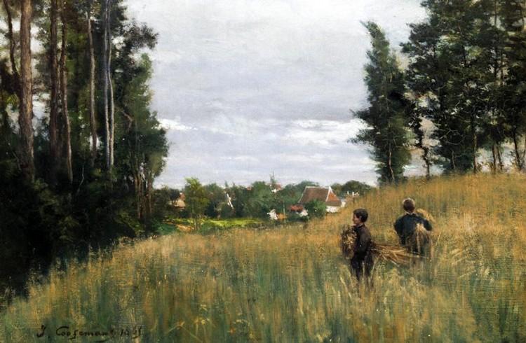 JOSEPH THEODORE COOSEMANS, 1828-1904
