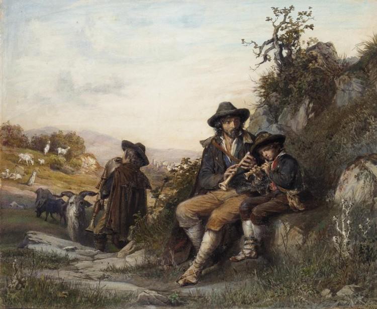 ARNOLDO CORRODI, ITALIAN 1846-1874