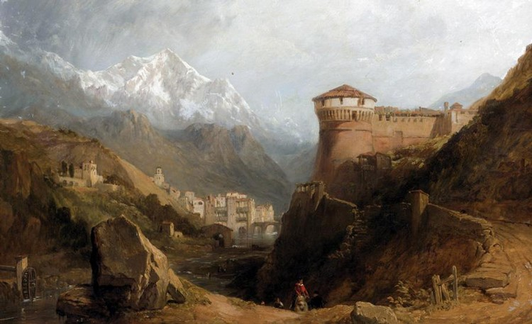 GEORGE CLARKSON STANFIELD, 1828-1878