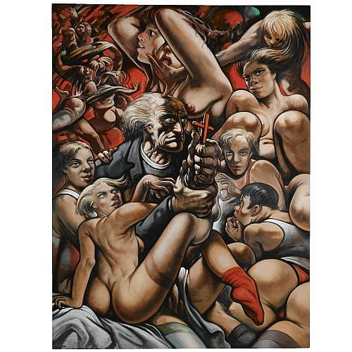 Peter Howson , The Temptation of St. Anthony