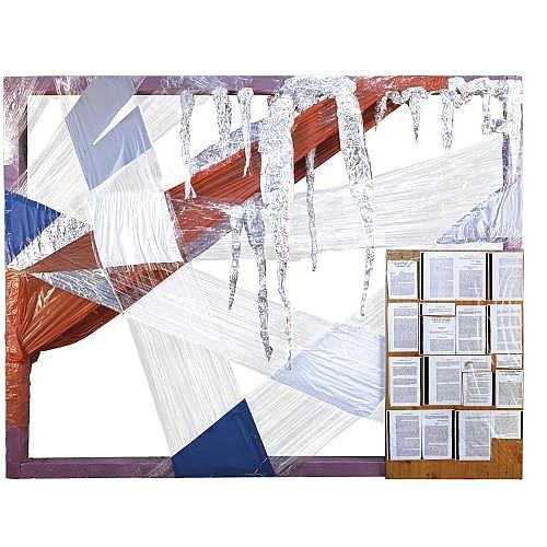 Thomas Hirschhorn , Relief Abstrait No. 825
