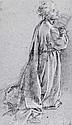 FRANCESCO CURRADI (1570-1661) A KNEELING FIGURE SEEN IN PROFILE., Francesco Curradi, Click for value