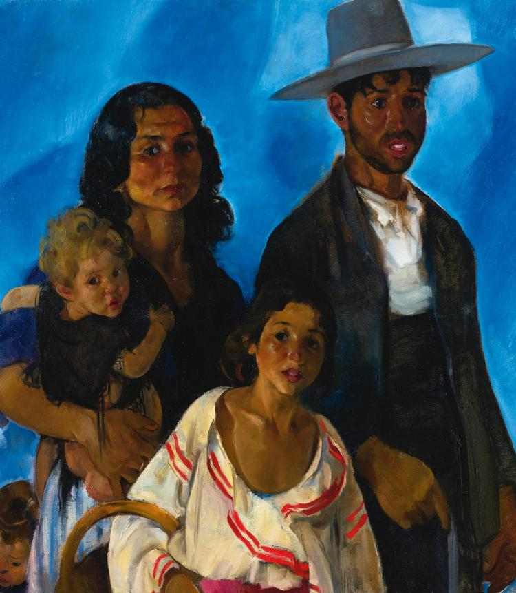MARTHA WALTER | Portrait of a Mexican Family