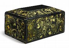 VINEGAR-DECORATED BOX, AMERICA, 19TH CENTURY |