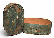 PAINT-DECORATED BRIDE'S BOX, CONTINENTAL, 19TH CENTURY | Paint-Decorated Bride's Box