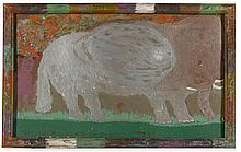 WILLIAM L. HAWKINS (1895 - 1990) | Elephant