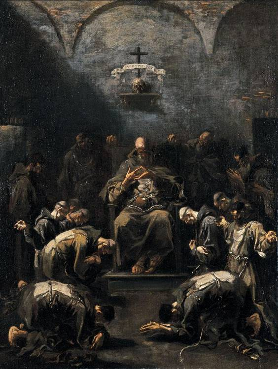 ALESSANDRO MAGNASCO, DETTO IL LISSANDRINO GENOVA 1667-1749