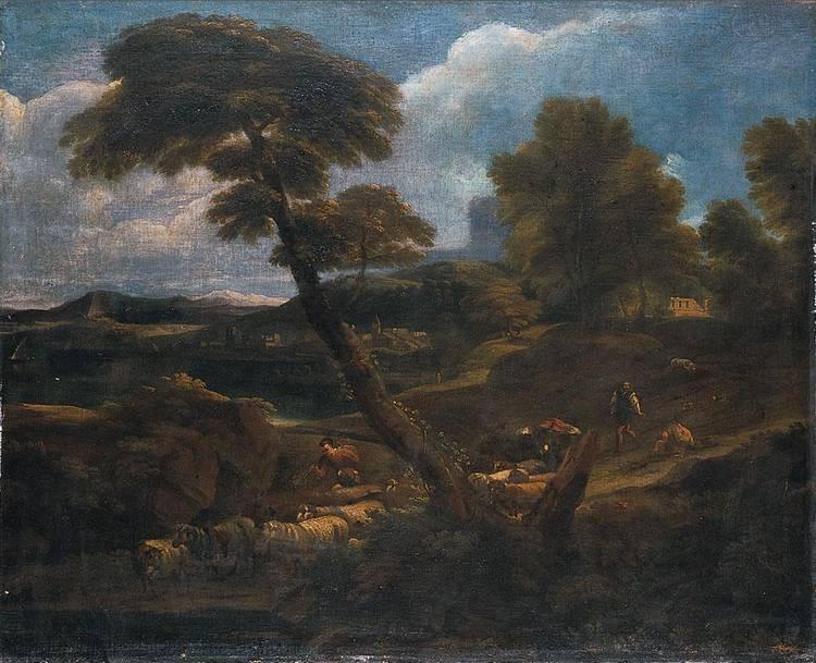 CERCHIA DI GASPARD DUGHET ROMA 1615-1675