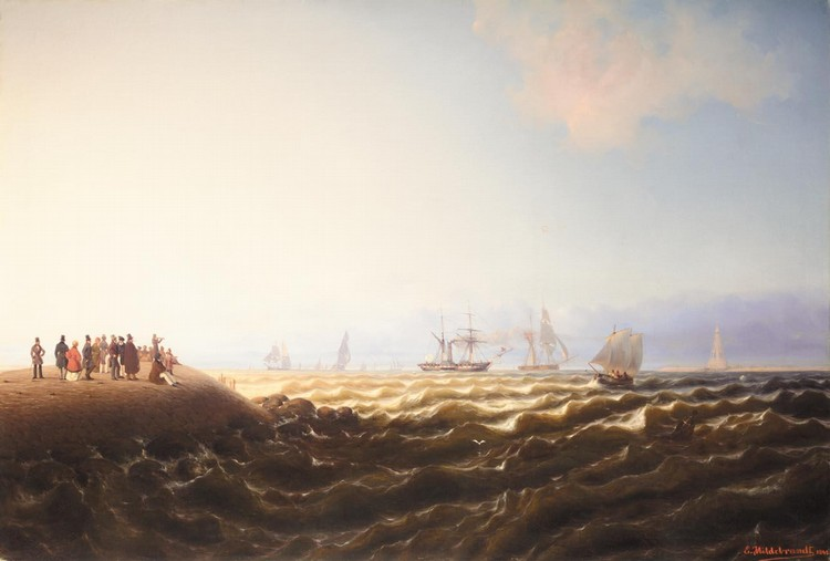 EDUARD HILDEBRANDT, 1817-1869