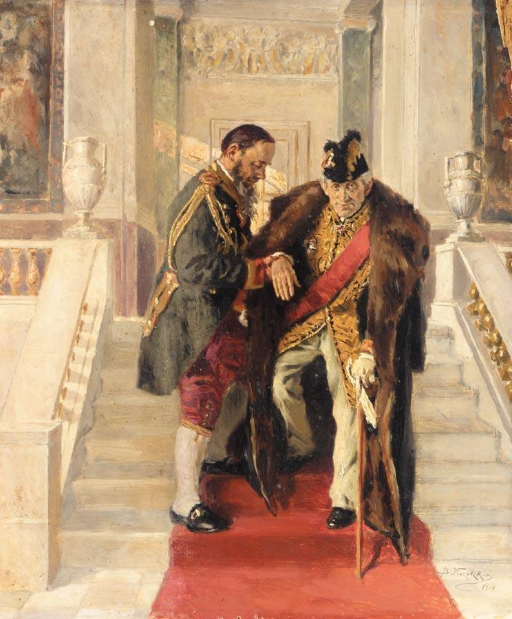 VLADIMIR EGOROVICH MAKOVSKY, 1846-1920
