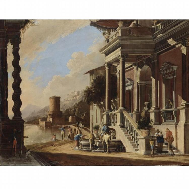 VIVIANO CODAZZI (BERGAMO 1604-1670 ROMA) E DOMENICO GARGIULO (NAPOLI 1612-1675)
