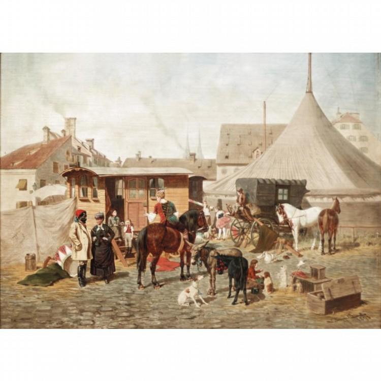 FRANZ QUAGLIO, GERMAN 1844-1920