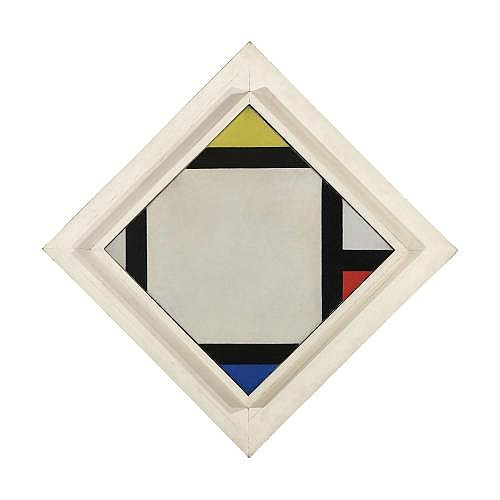 Theo van Doesburg , CONTRA-COMPOSITION VII