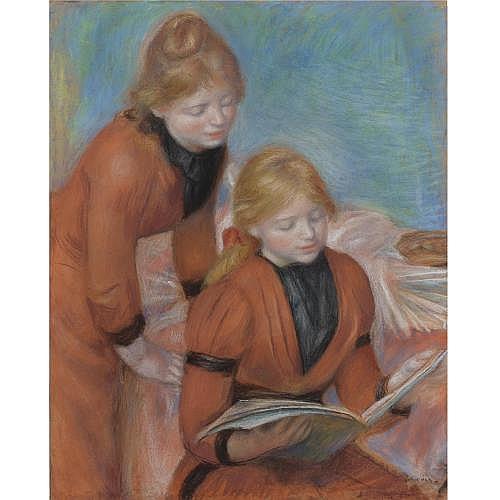 Pierre-Auguste Renoir , La Lecture