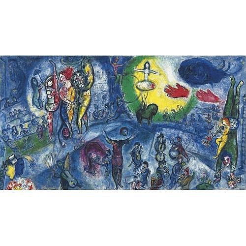 Marc Chagall , Le Grand cirque