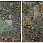 l - Édouard Vuillard , I) LE BANC (JARDIN DU LUXEMBOURG) , Edouard Vuillard, Click for value
