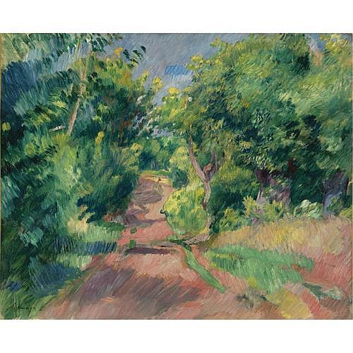 Pierre-Auguste Renoir , LES ENVIRONS DE VARENGEVILLE