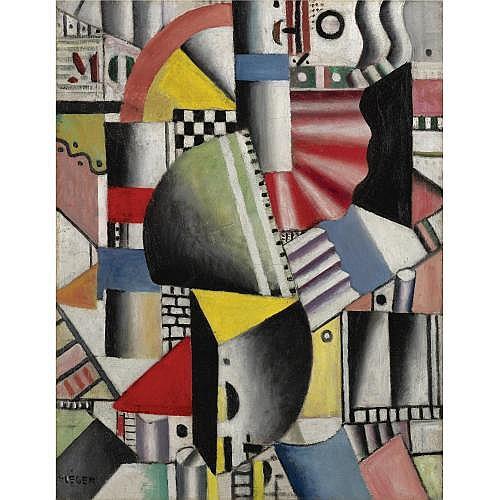 Fernand Léger , Les Usines