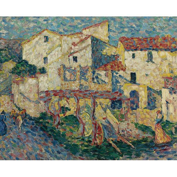 Louis Valtat , 1869-1952 Paysage d'Espagne Oil on canvas
