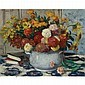 Albert André , 1869-1954 Vase de Fleurs Oil on canvas, Albert Andre, Click for value