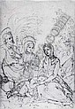 JACOPO CHIMENTI, CALLED JACOPO DA EMPOLI (1552-1640) THE HOLY FAMILY WITH ST. ANNE., Jacopo Chimenti, Click for value