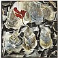 Francesco Clemente , b. 1952 Red Flower on Scorched Earth watercolour on paper, Francesco Clemente, Click for value