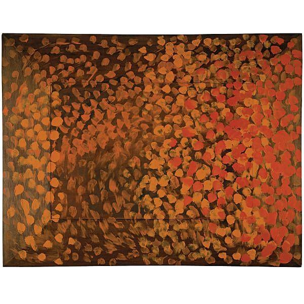 Howard Hodgkin , b. 1932 House oil on wood
