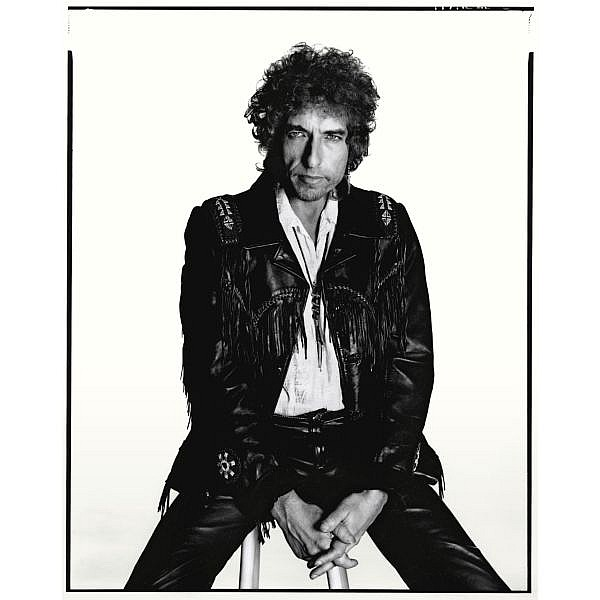 David Bailey , b. 1938 Bob Dylan digital archival fibre based print in artist's frame