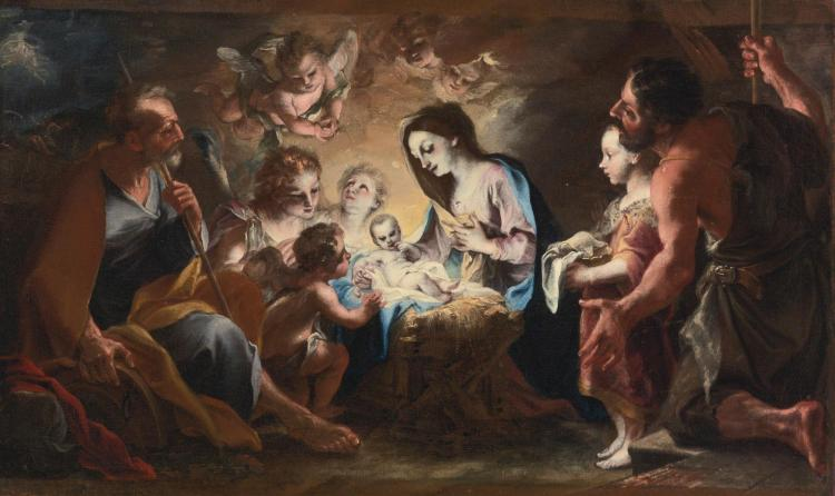 STEFANO MARIA LEGNANI, CALLED LEGNANINO | Adoration of the shepherds
