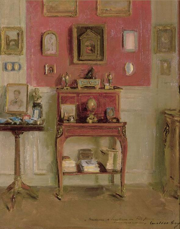WALTER GAY AMERICAN 1856-1937 INTERIOR