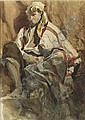 * HENRI-ALEXANDRE-GEORGES REGNAULT FRENCH 1843-1871 HOMME DE PEUPLE À GRENADE, Henri Regnault, Click for value