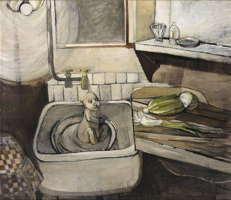 kitchen sink realism smith artwork for at auction smith 2845