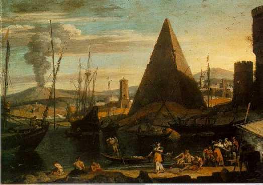 ADRIAEN VAN DER KABEL Rijswijk 1630/31 - 1705 Lyon