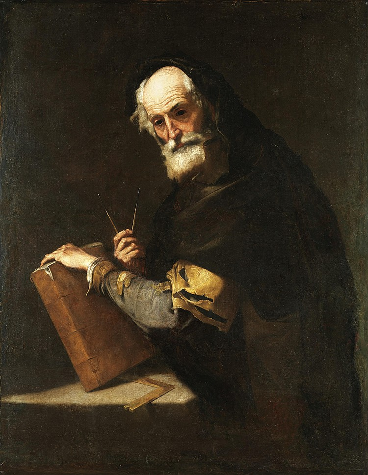 JUSEPE DE RIBERA, CALLED LO SPAGNOLETTO
