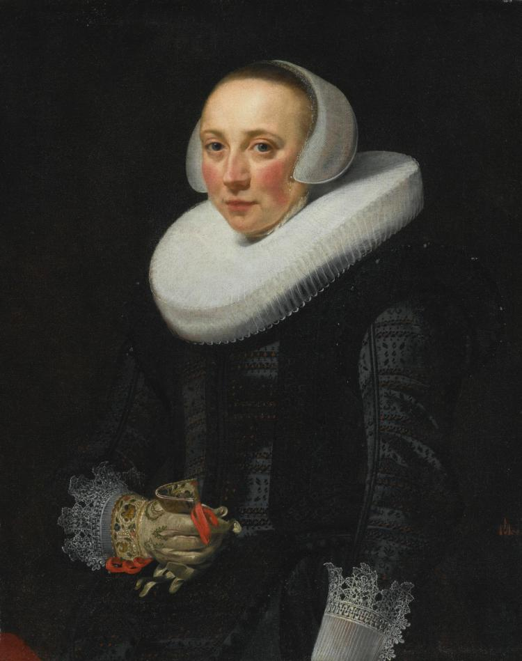 NICOLAES ELIASZ. PICKENOY | Portrait of a Lady