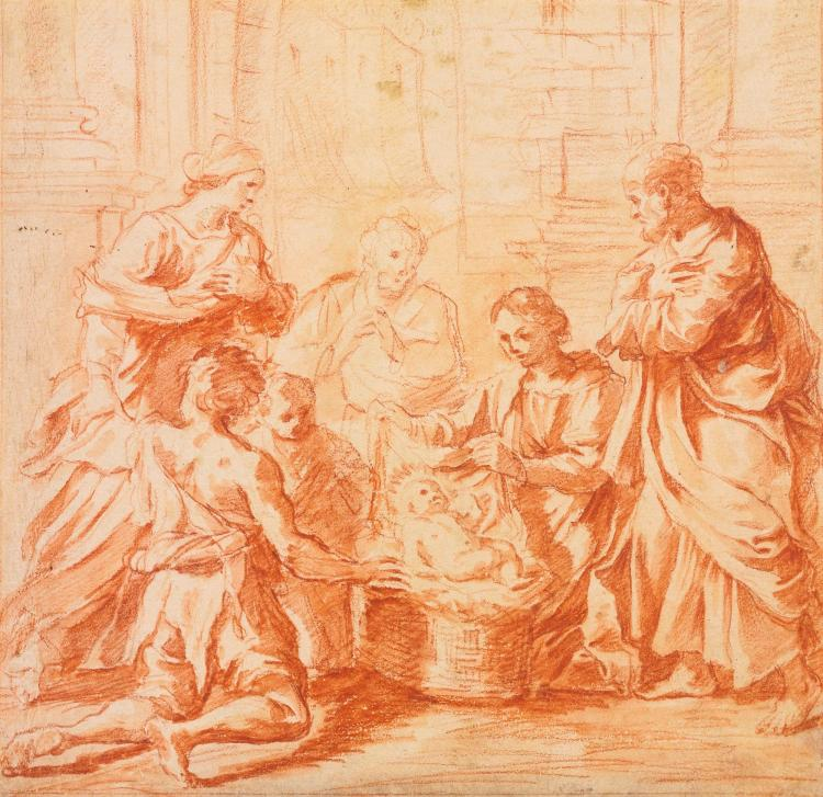 GIOVANNI MARIA MORANDI | The Adoration of the Shepherds