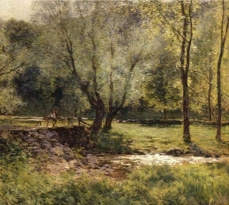 WILLARD L. METCALF (1858-1925)