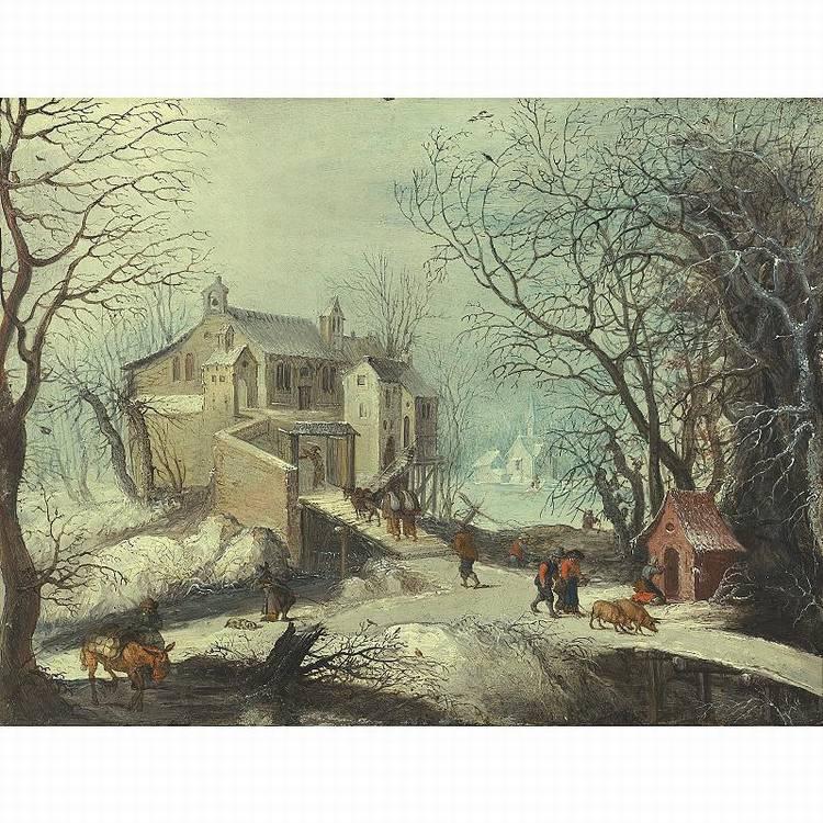 * FRANS DE MOMPER ANTWERP 1603 - 1660