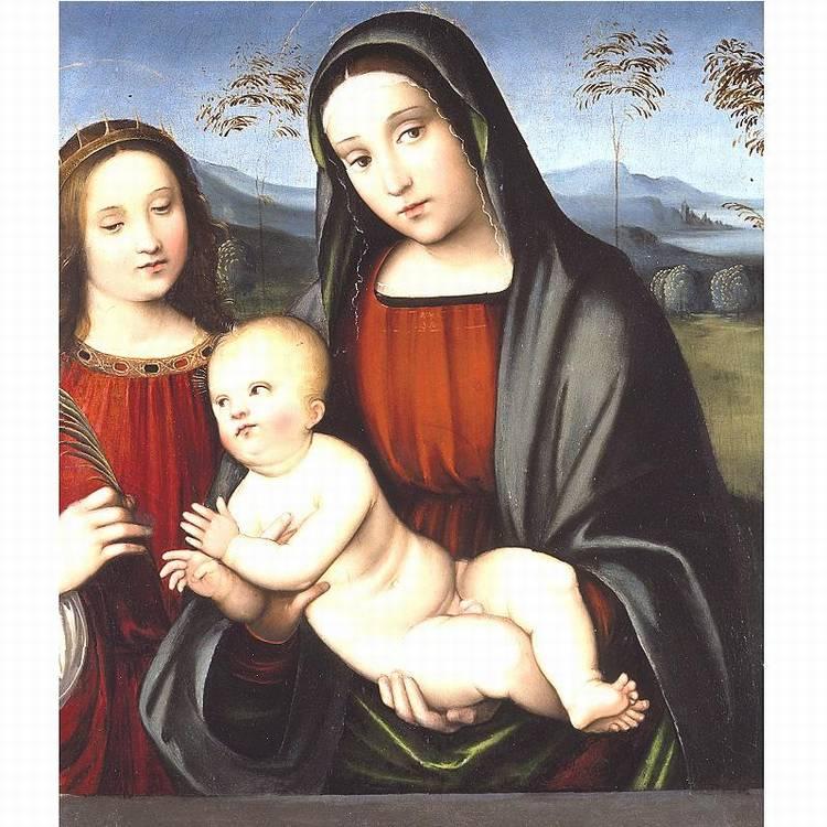 * FRANCESCO RAIBOLINI, CALLED IL FRANCIA AND GIACOMO FRANCIA BOLOGNA CIRCA 1486-1577 BOLOGNA CIRCA