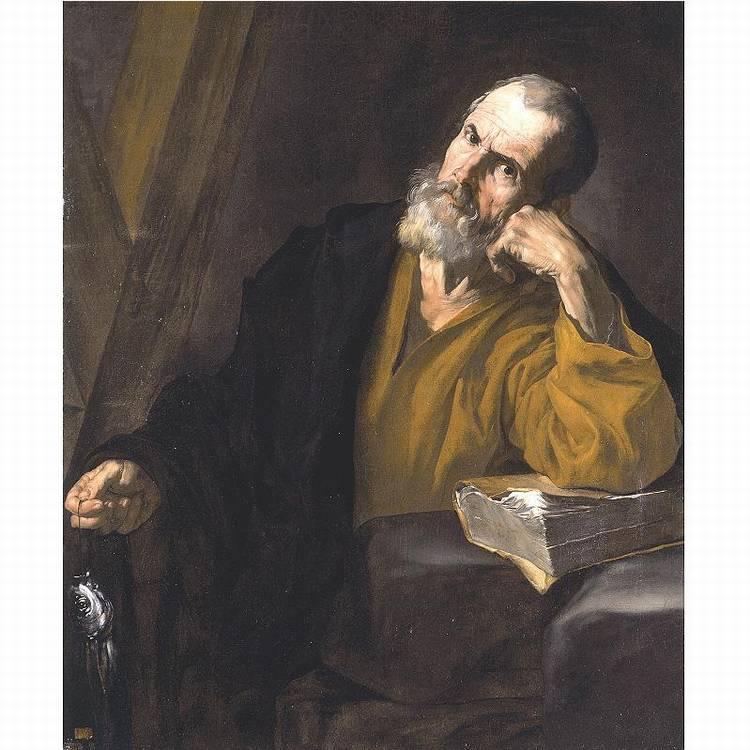 * JUSEPE DE RIBERA, DETTO LO SPAGNOLETTO VALENCIA 1591-1652 NAPOLI