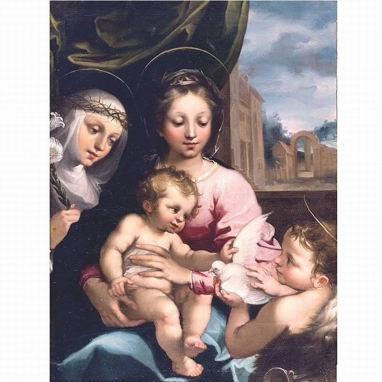 * RUTILIO MANETTI SIENA BAPT 1571 - 1639