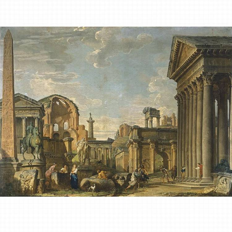 * GIOVANNI PAOLO PANINI PIACENZA 1691 - 1765 ROME