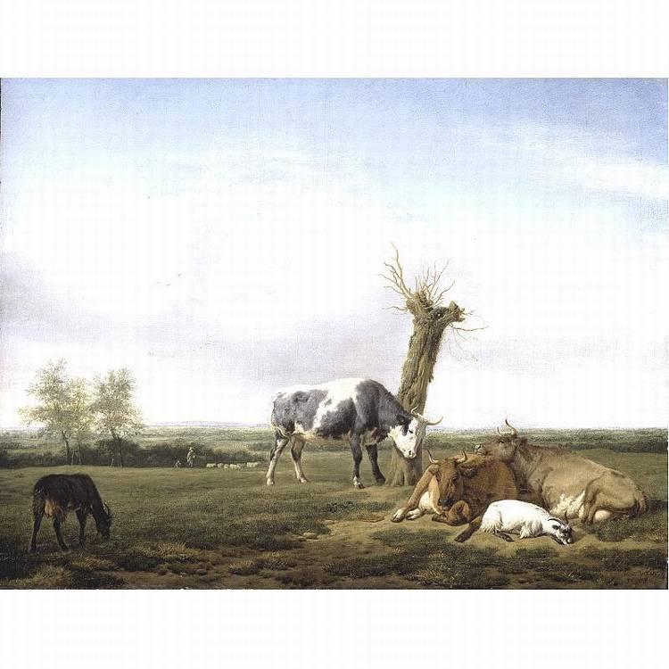 c - * ADRIAEN VAN DE VELDE AMSTERDAM 1636 - 1672