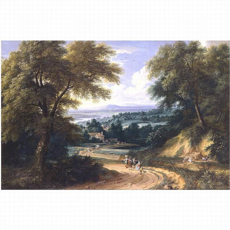 * ADRIAEN FRANS BOUDEWIJNS BRUSSELS 1644-1711