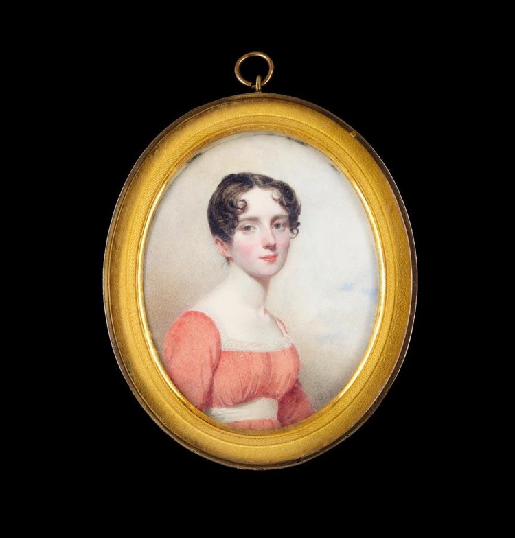 ANDREW ROBERTSON 1777-1845 PORTRAIT OF A LADY