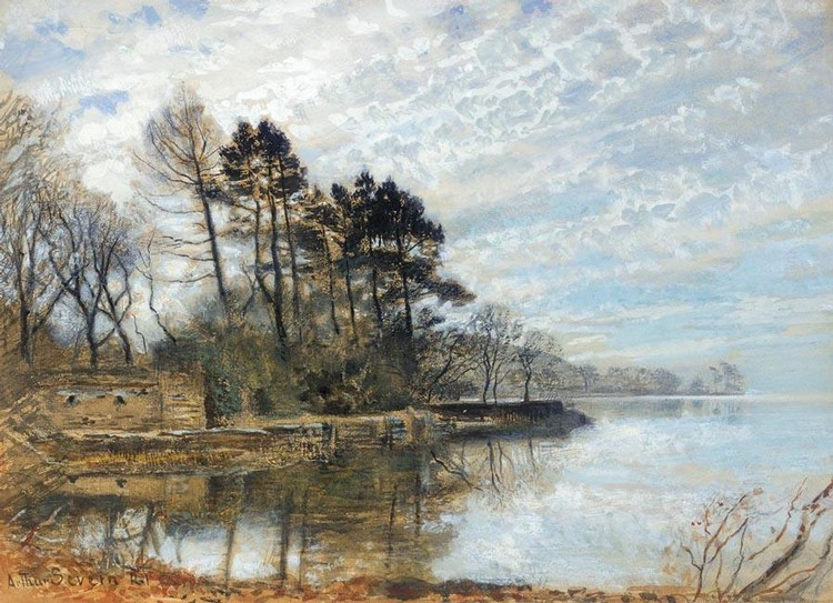 Arthur Severn Works On Sale At Auction Amp Biography